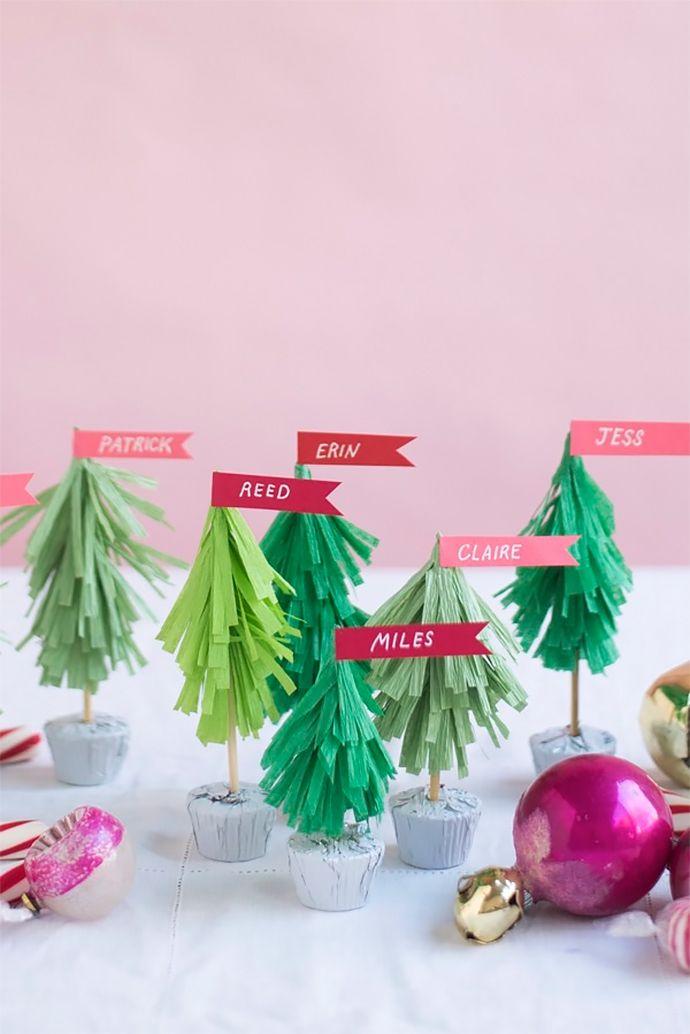 Holiday Table Setting Christmas Place Cards Ideas Christmas