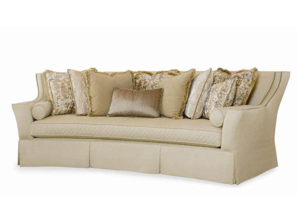 Sleeper Sofas Mansfield Leather Sofa large gray