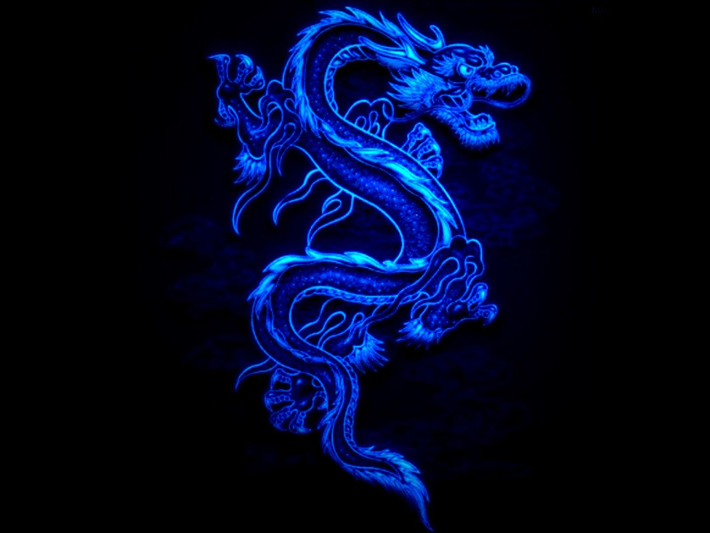 1920x1080 Px HD Desktop Wallpaper Blue Chinese Dragon