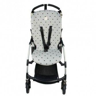 41a46e9c4 Pushchair cover for Bugaboo Bee Plus ® Black Crown - Fun*das bcn ...