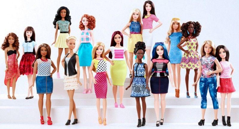 Mattel estrena una Barbie Actualizado: Curvy, Mujer pequeña, y Tall