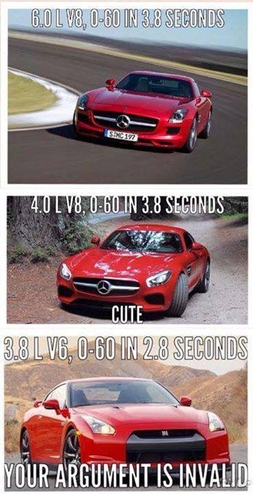 nissan #GTR #mercedes #car www teamimports com | Car memes
