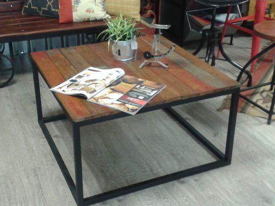 Mesa centro Vintage. Fabricada con material reciclado. Solo en Ünik ...