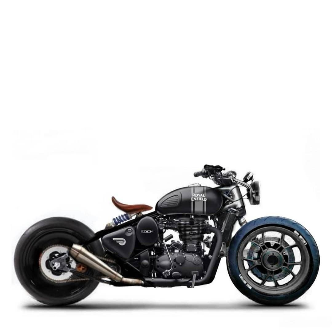 Caferacers and custom bikes on instagram royal