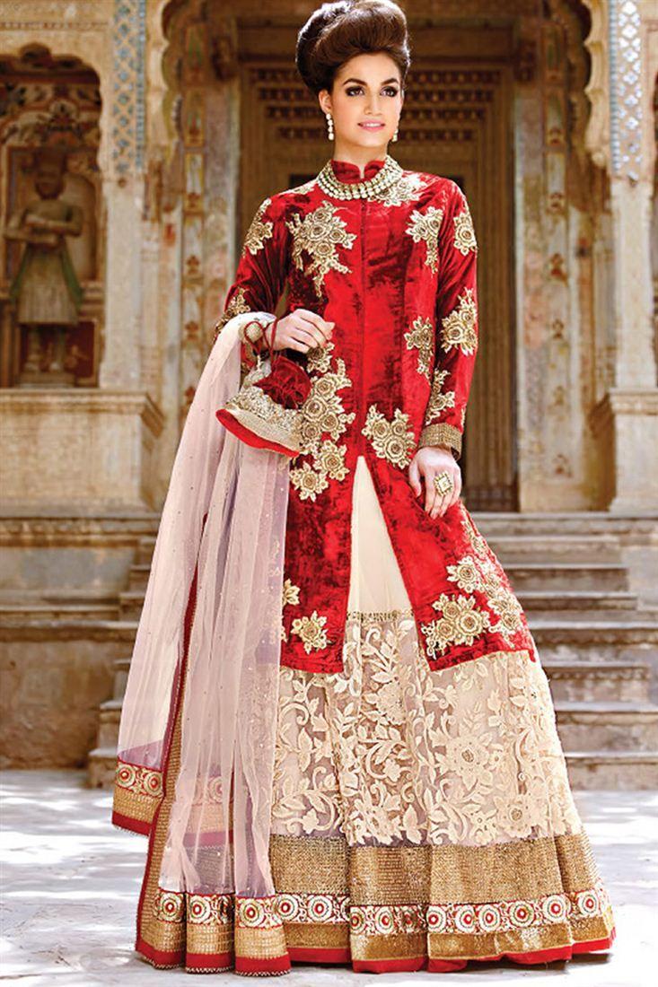Aishwarya rai wedding dress  Wedding Bridal Embroidered Lehenga Choli  Dress  Pinterest