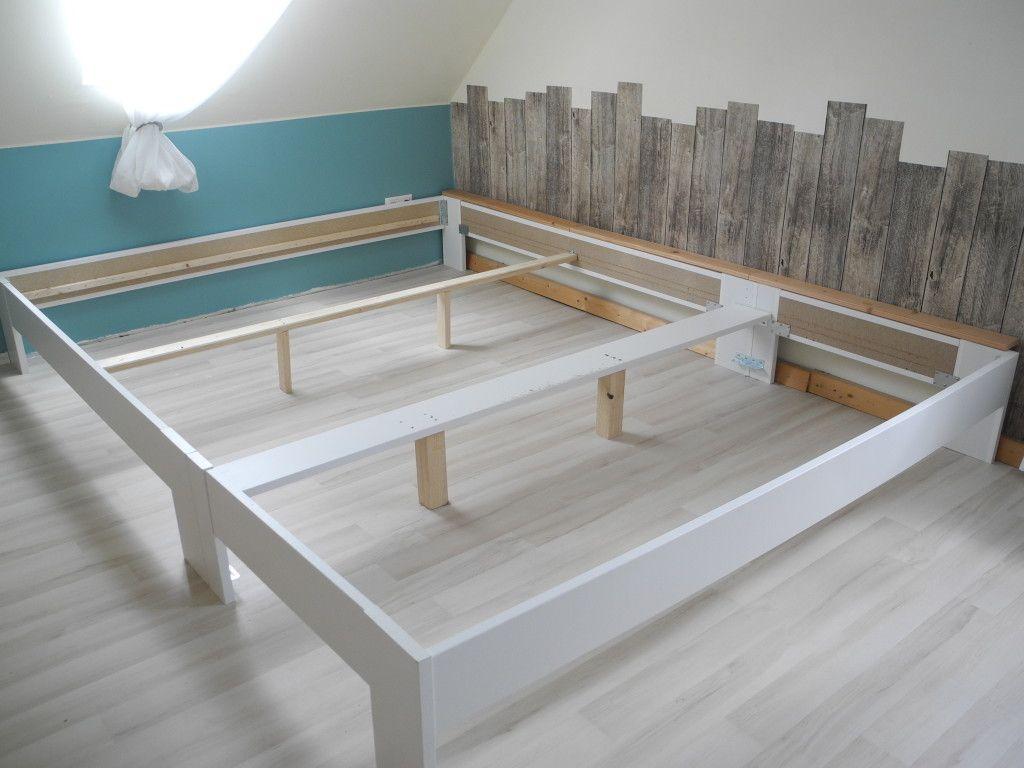 Bauanleitung 270 Cm Familienbett Aus Zwei Betten Familien Bett Familienbett Schlafzimmerrenovierung