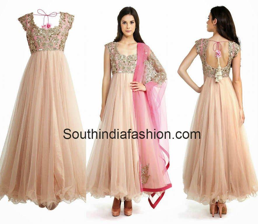 Designer Anarkali by Anushree Reddy | Indian clothes | Pinterest ...