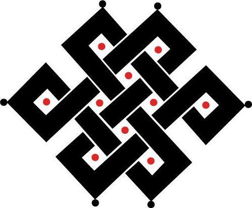 les symboles du bouddhisme tib tain symboles pinterest bouddhisme symbole bouddhiste et. Black Bedroom Furniture Sets. Home Design Ideas