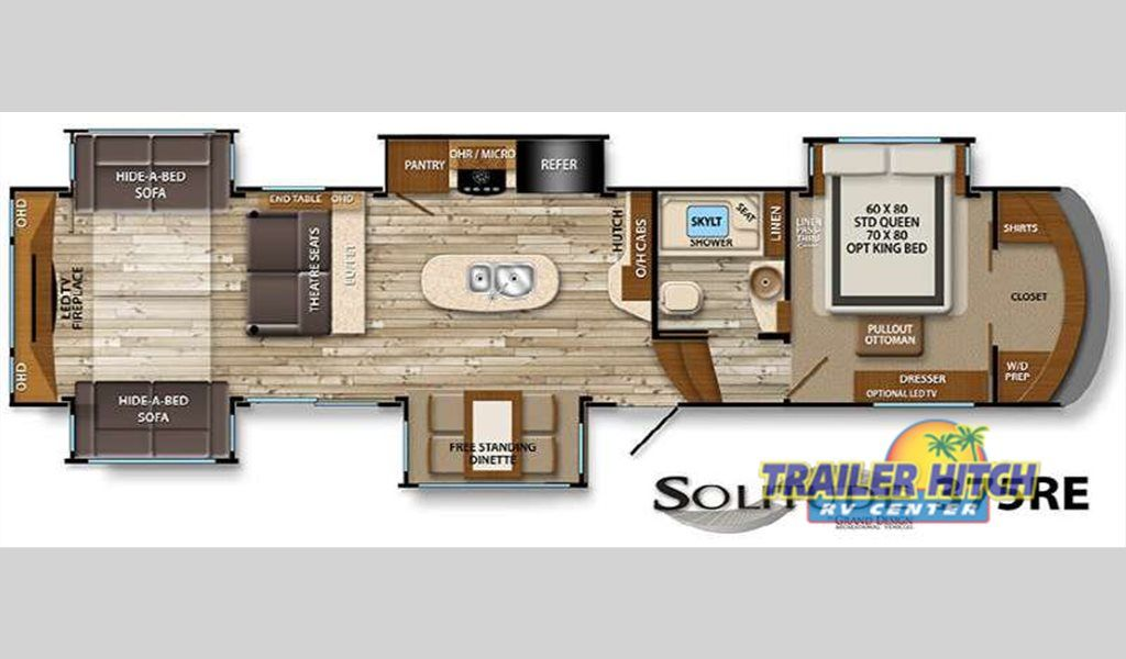5th Wheel Camper Floor Plans Collection