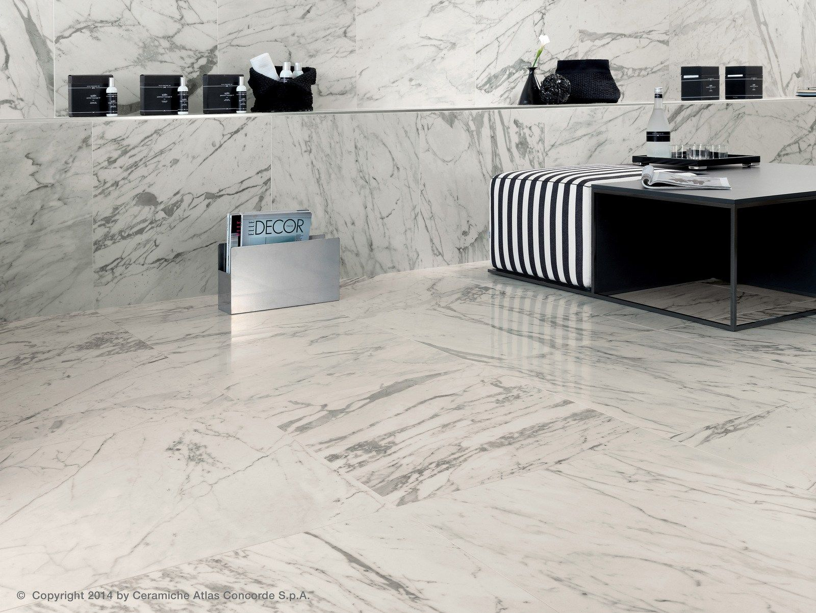 Indooroutdoor porcelain stoneware floor tiles with marble effect indooroutdoor porcelain stoneware floor tiles with marble effect marvel pro porcelain stoneware collection by dailygadgetfo Image collections