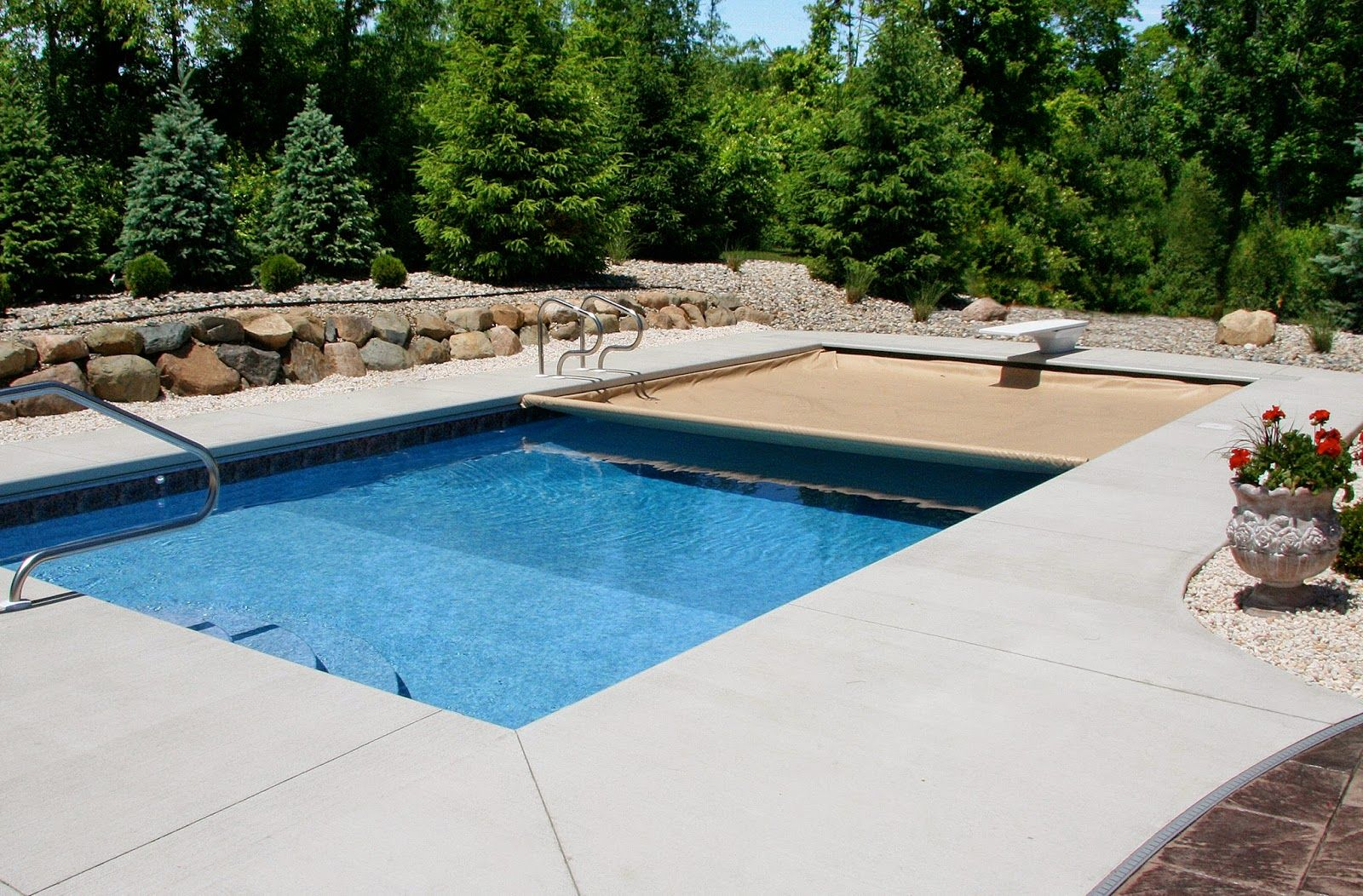 Automatic Cover Considerations Pool Cover Swimming Pools Pool