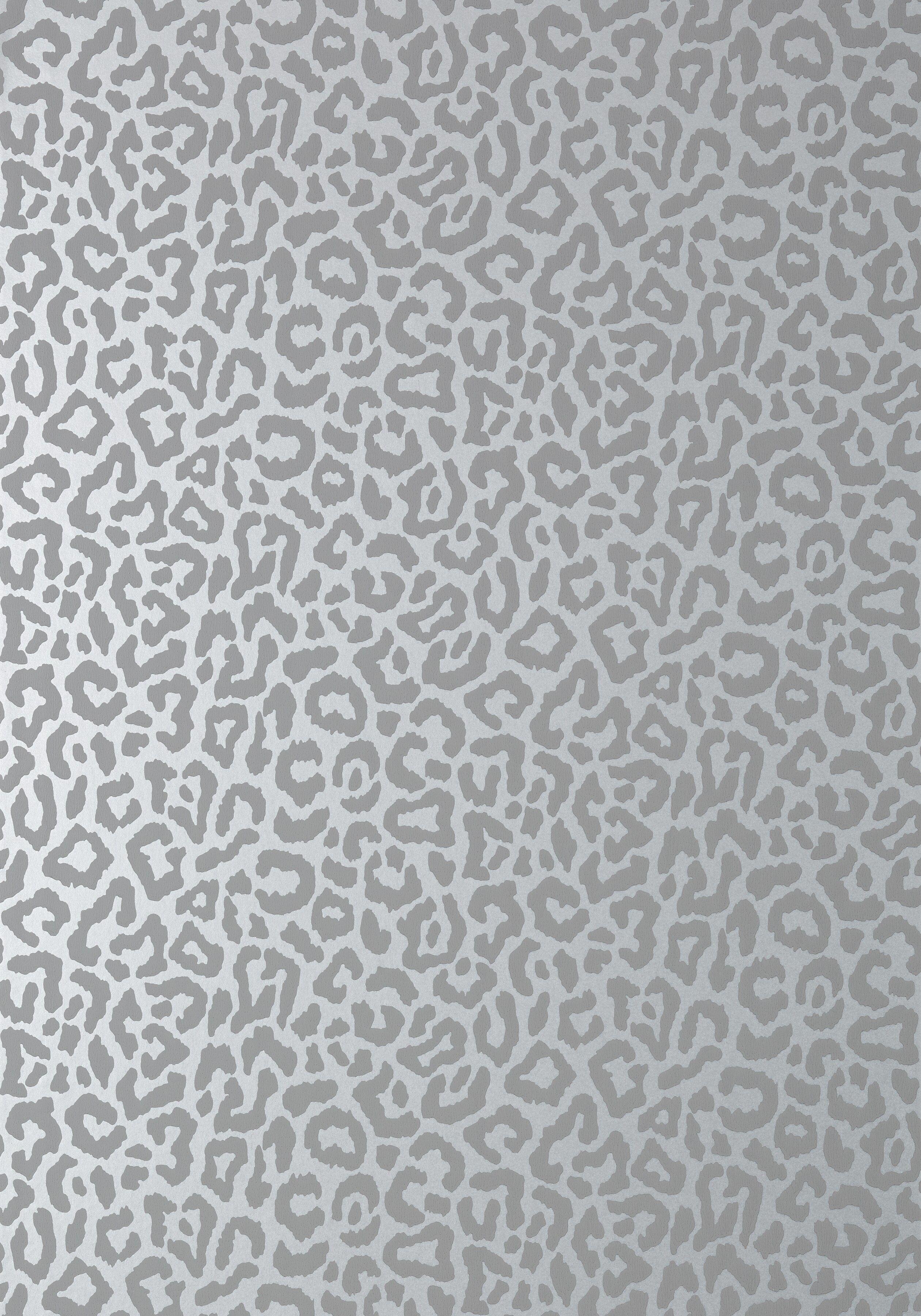 Javan metallic silver in 2020 Leopard print wallpaper