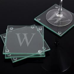 Personalized Glass Coasters Set Of 4