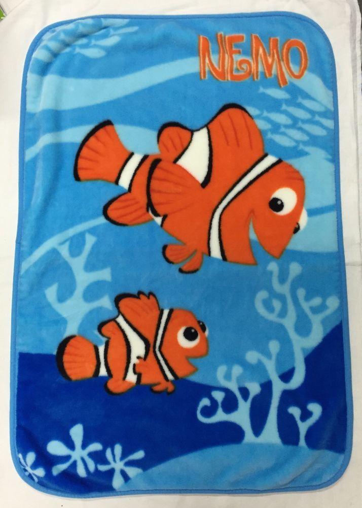 Finding Nemo Movie Disney Pixar Luxury Plush Fleece Baby Blanket Extraordinary Disney Finding Nemo Fleece Throw Blanket