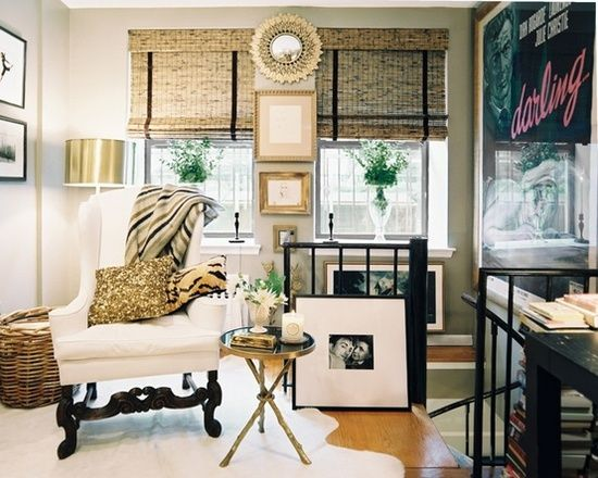 This is such an interesting room! All About Vignettes