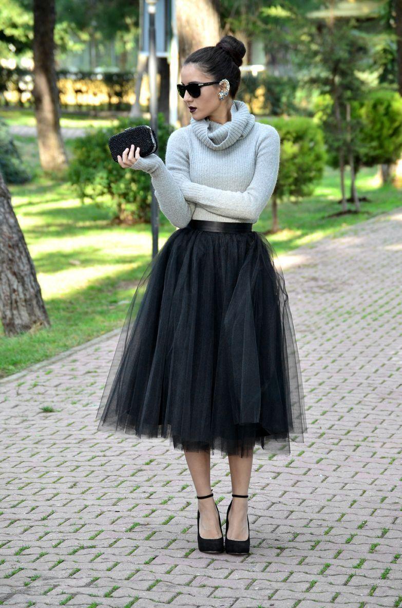 47 feminine looks tulle skirt outfit ideas tulle skirt