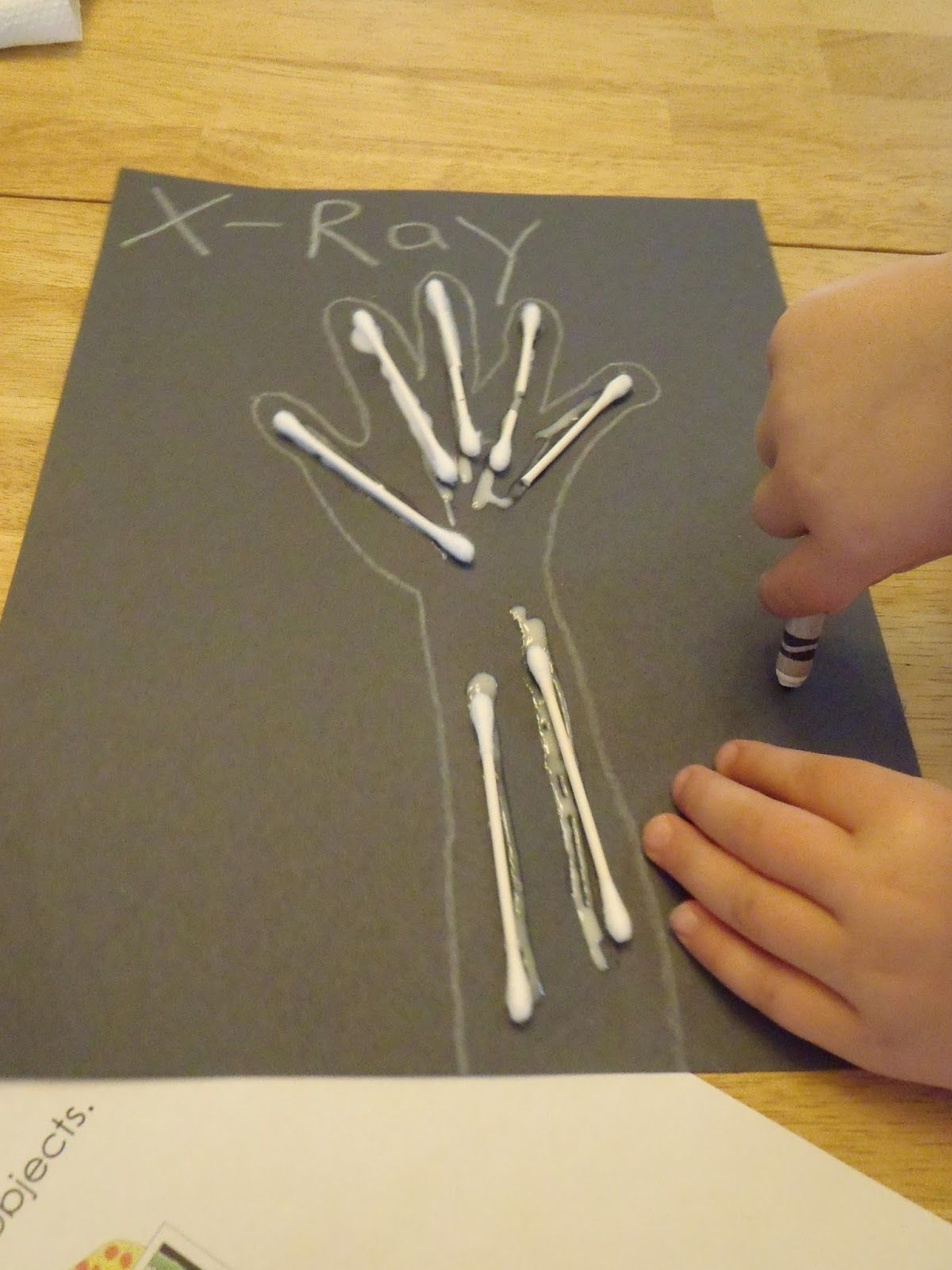 Letter X Crafts For Preschool Letter X - X Ray Thema...