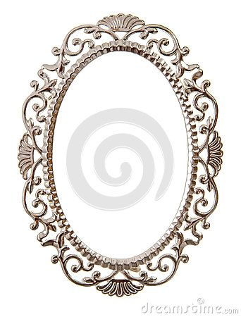 oval ornate frame stock images image 27656214 graphic and
