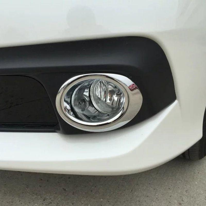 ABS Chrome Front Fog Light Lamp Trim For Kia K5 Optima 2016-2017