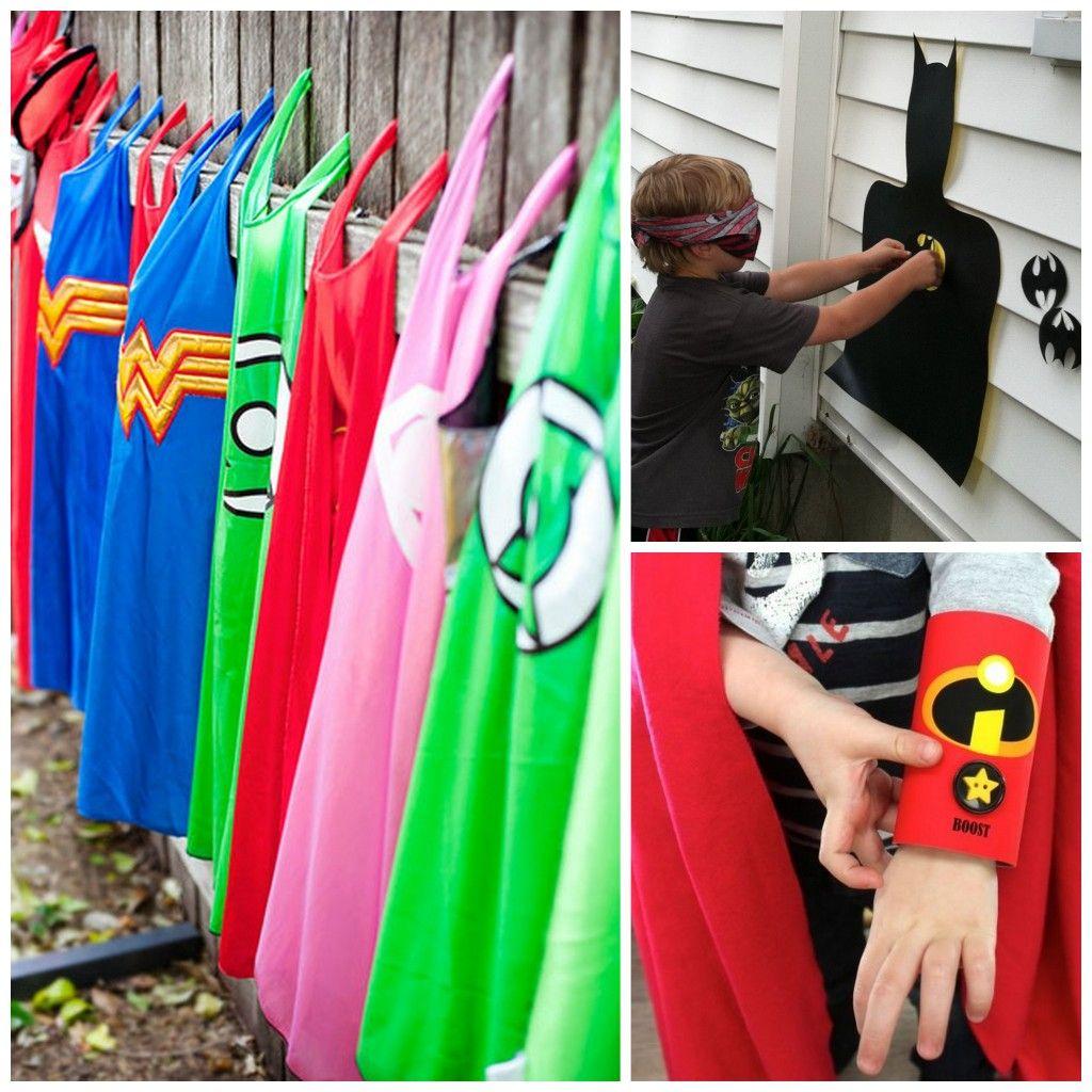 By Invitation Only | Cómo ambientar un cumple de Superheroes | http://byinvitationonlyblog.com