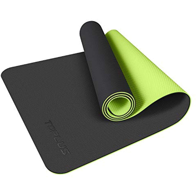 TOPLUS Yoga Mat, Upgraded NonSlip Texture 1/4 inch Pro