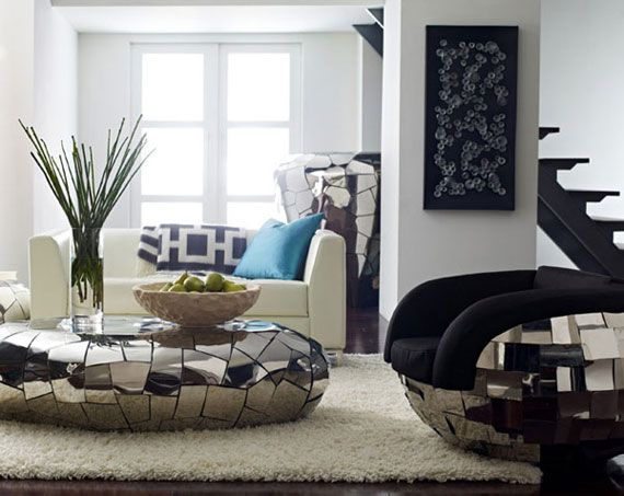 Cool Living Room Table Ideas - 34 Designs 20