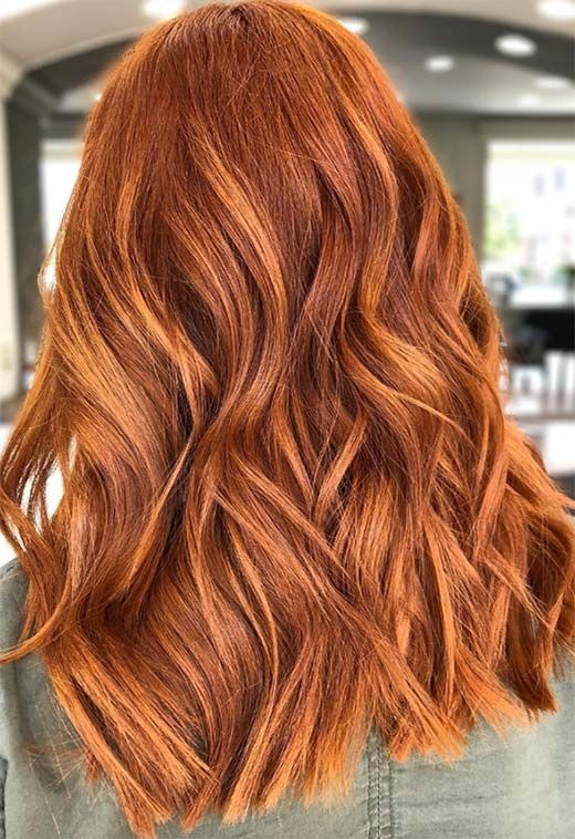 Photo of 57 Flaming Copper Hair Color Ideas for Every Skin Tone
