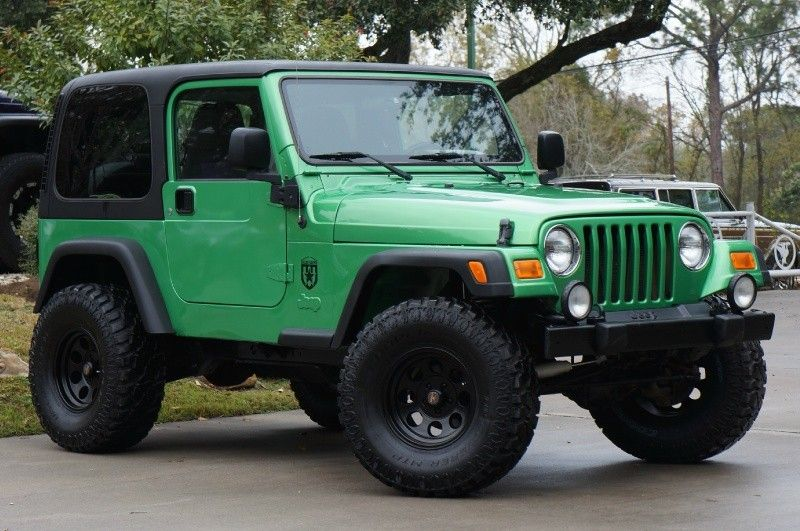 2004 Electric Lime Green Jeep Wrangler 15995 2004 Jeep Wrangler