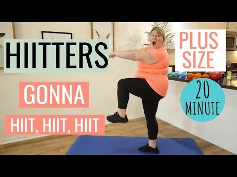 Photo of Plus Size Modified Full Body HIIT Home Workout for OBESE People / No Jumping / No Equipment