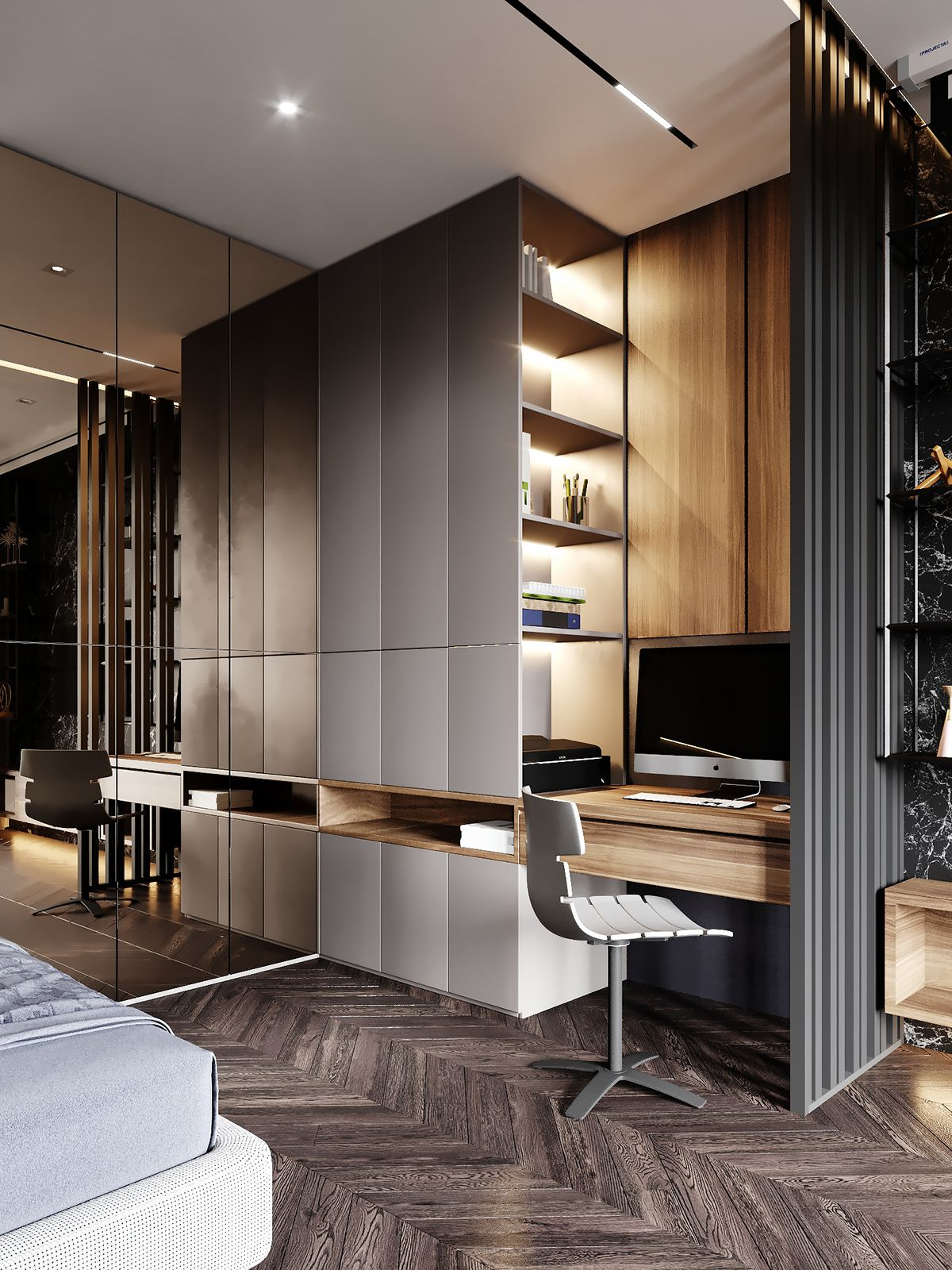 Hotel Room Design: INFINITY On Behance