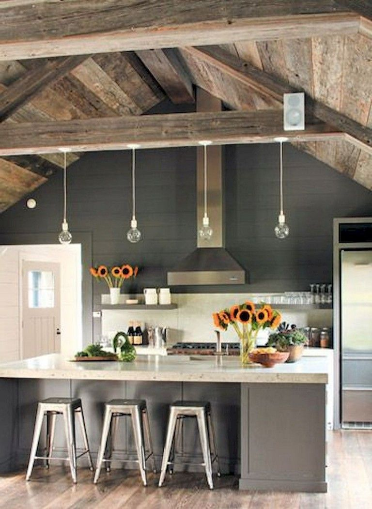 100+ Amazing Rustic Farmhouse Kitchen Decor Ideas http ... on Rustic:yucvisfte_S= Farmhouse Kitchen Ideas  id=37685