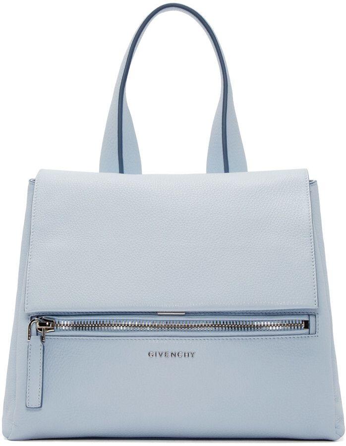 0edce8544a Givenchy Blue Small Pandora Pure  Bag