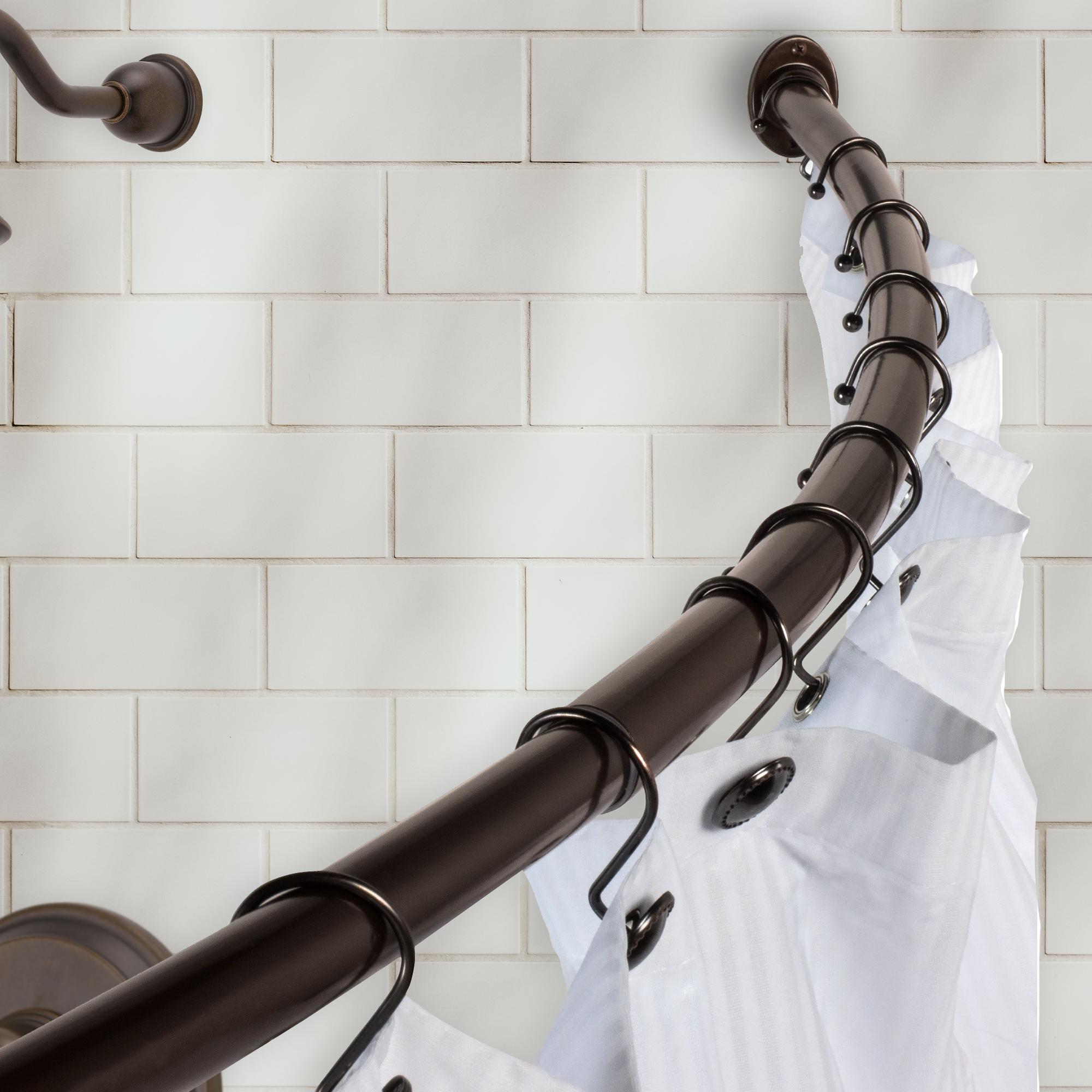 bennington curved shower curtain rod