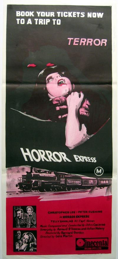 Image result for horror express daybill
