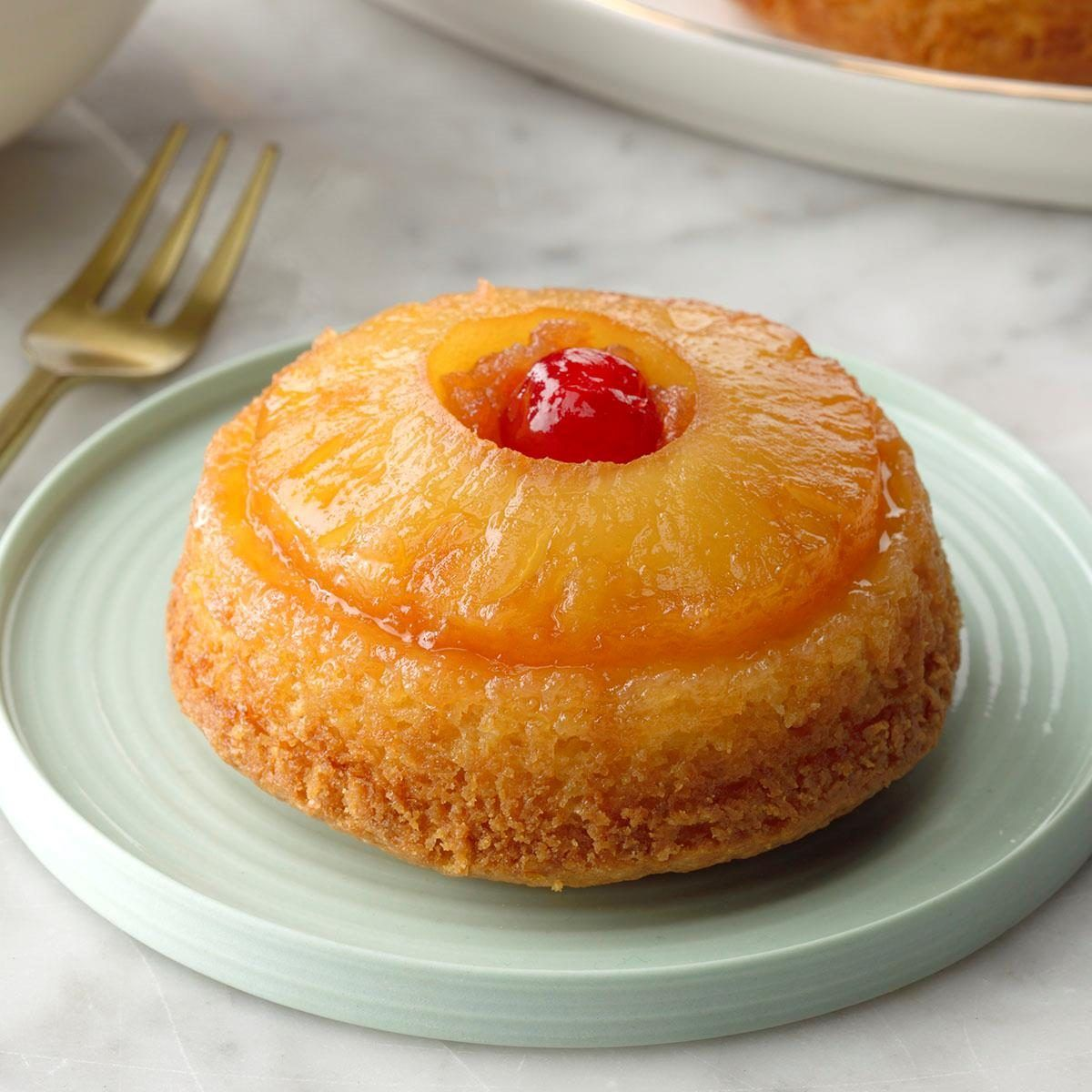 Pineapple Upside-Down Cupcakes Pineapple Upside-Do