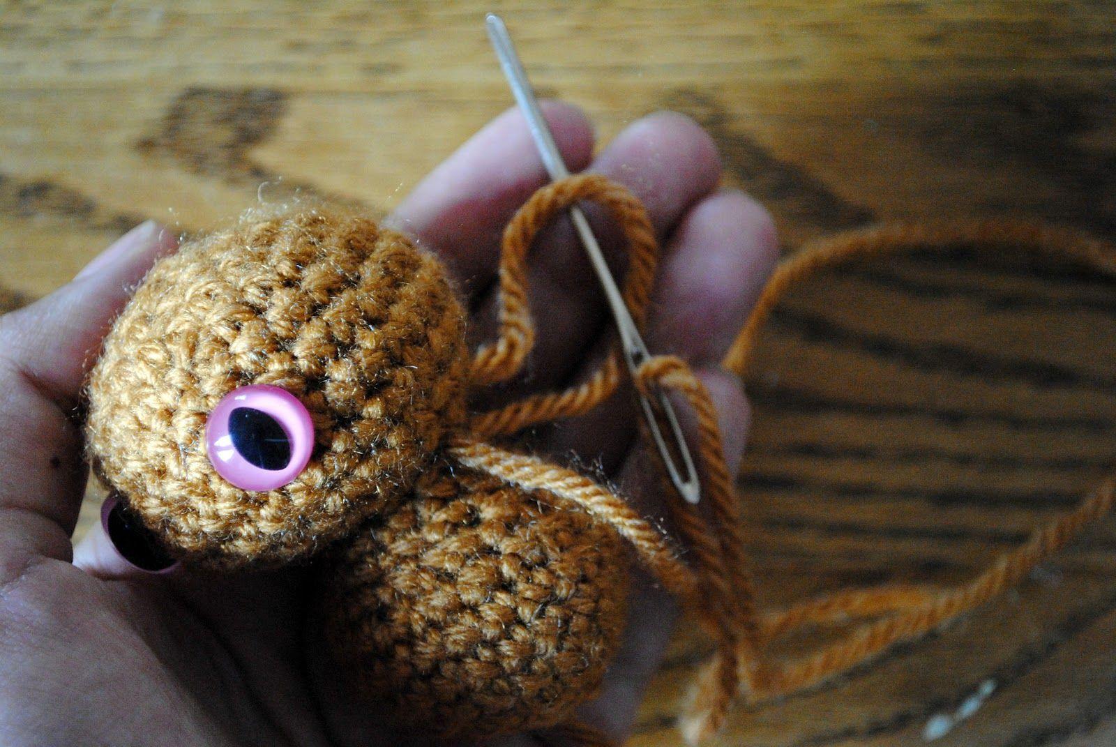 Amigurumi Tips : Amigurumi tips sewing and hiding ends crochet tutorials