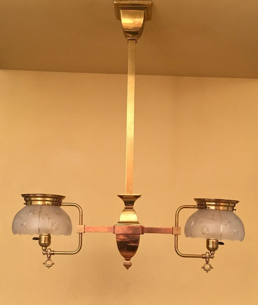 1910 converted gas pendant antique lighting fixtures antique