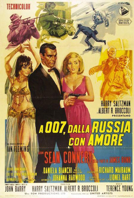 2 A 007 Dalla Russia Con Amore From Russia With Love