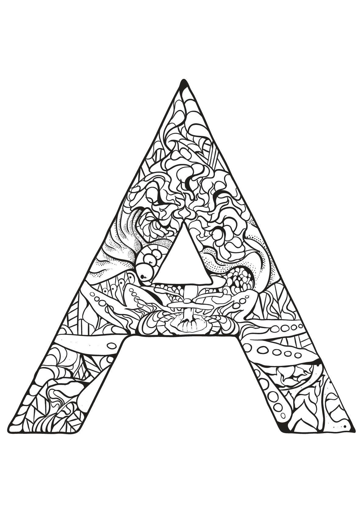 Alphabet lettre a - Alphabet lettre a. A partir de la galerie