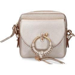 See By Chloé Handtasche Joan Rindsleder Logo silber Chloé #seebychloe
