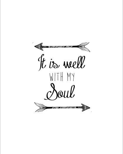 photo relating to It is Well With My Soul Printable identified as Pin upon God is Wonderful