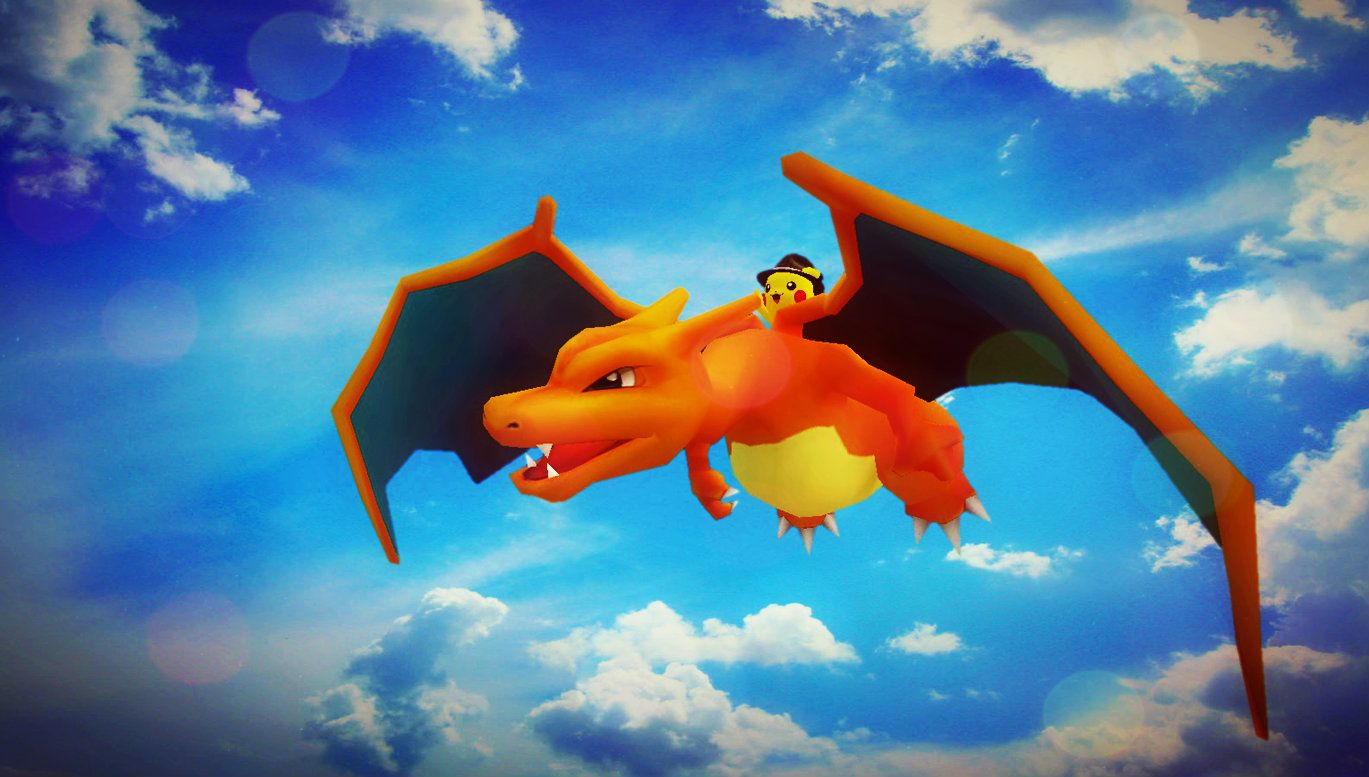Charizard and Pikachu | 3D Modeling (GMod) | Disney characters