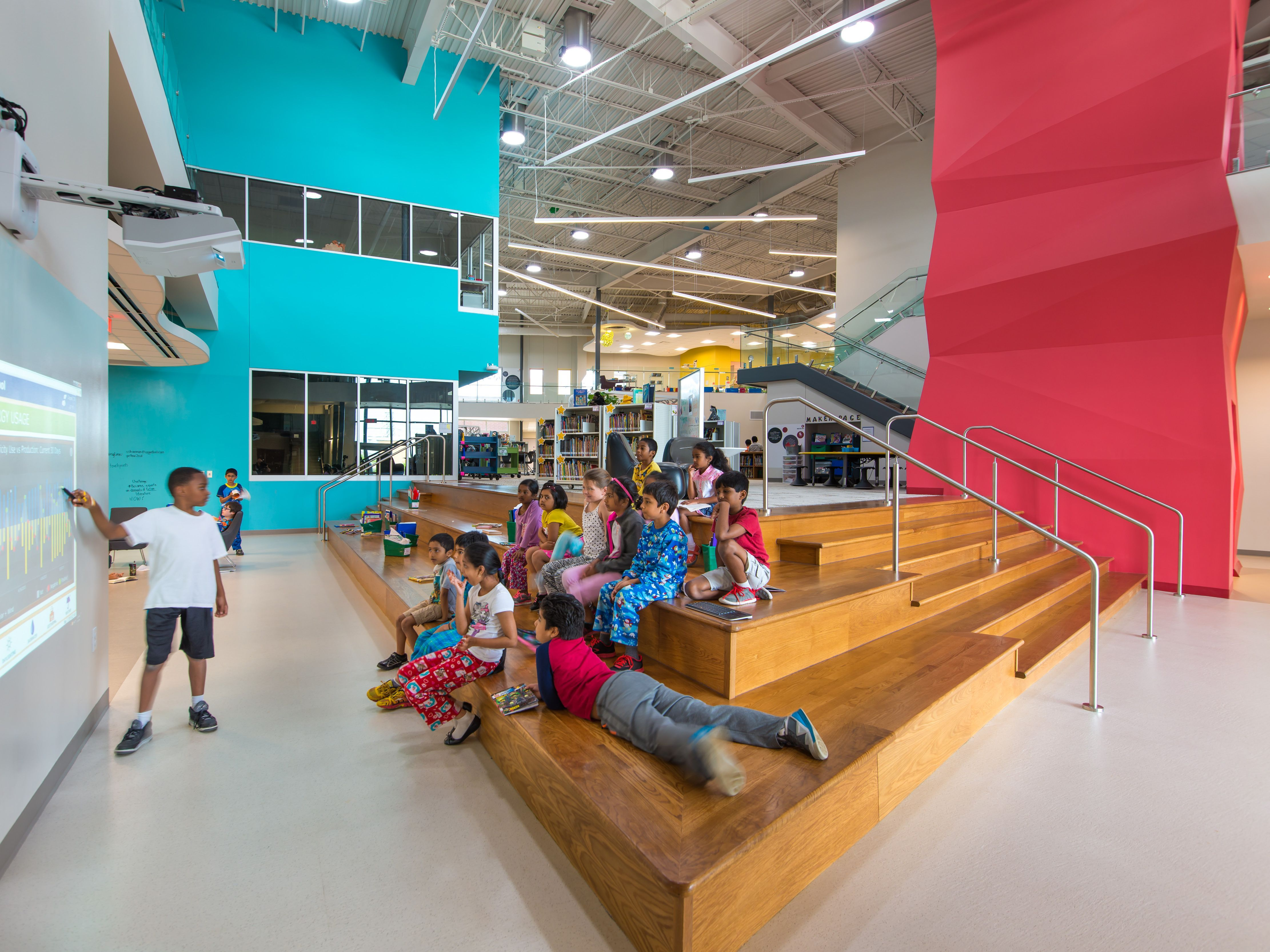 Aia Dallas Design Awards School Architecture Elementary Schools School Interior