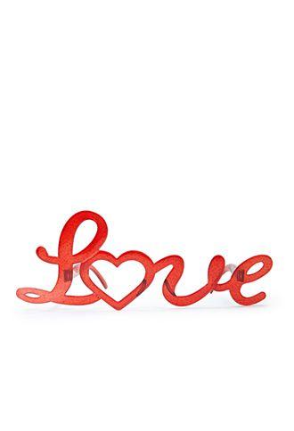 Love Glasses | FOREVER21 - #valentine #love #glasses
