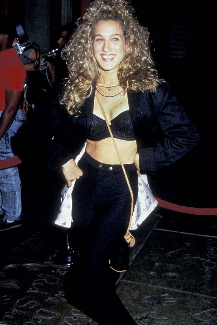 687ef07aa6 sarah jessica parker 90s style | 90's throwback | Sarah jessica ...