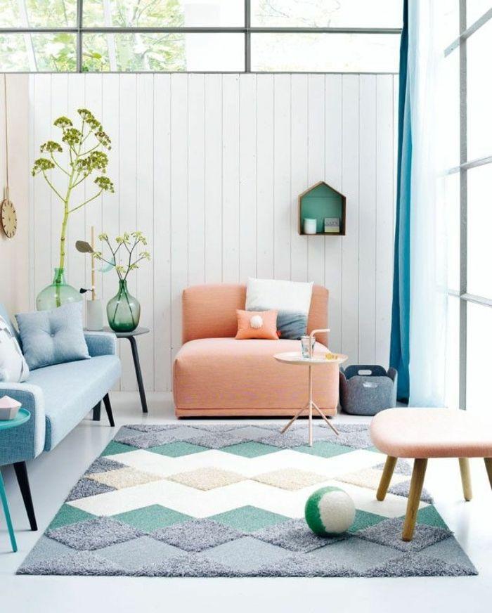 Adopter la couleur pastel pour la maison! | Pastels, Decoration ...