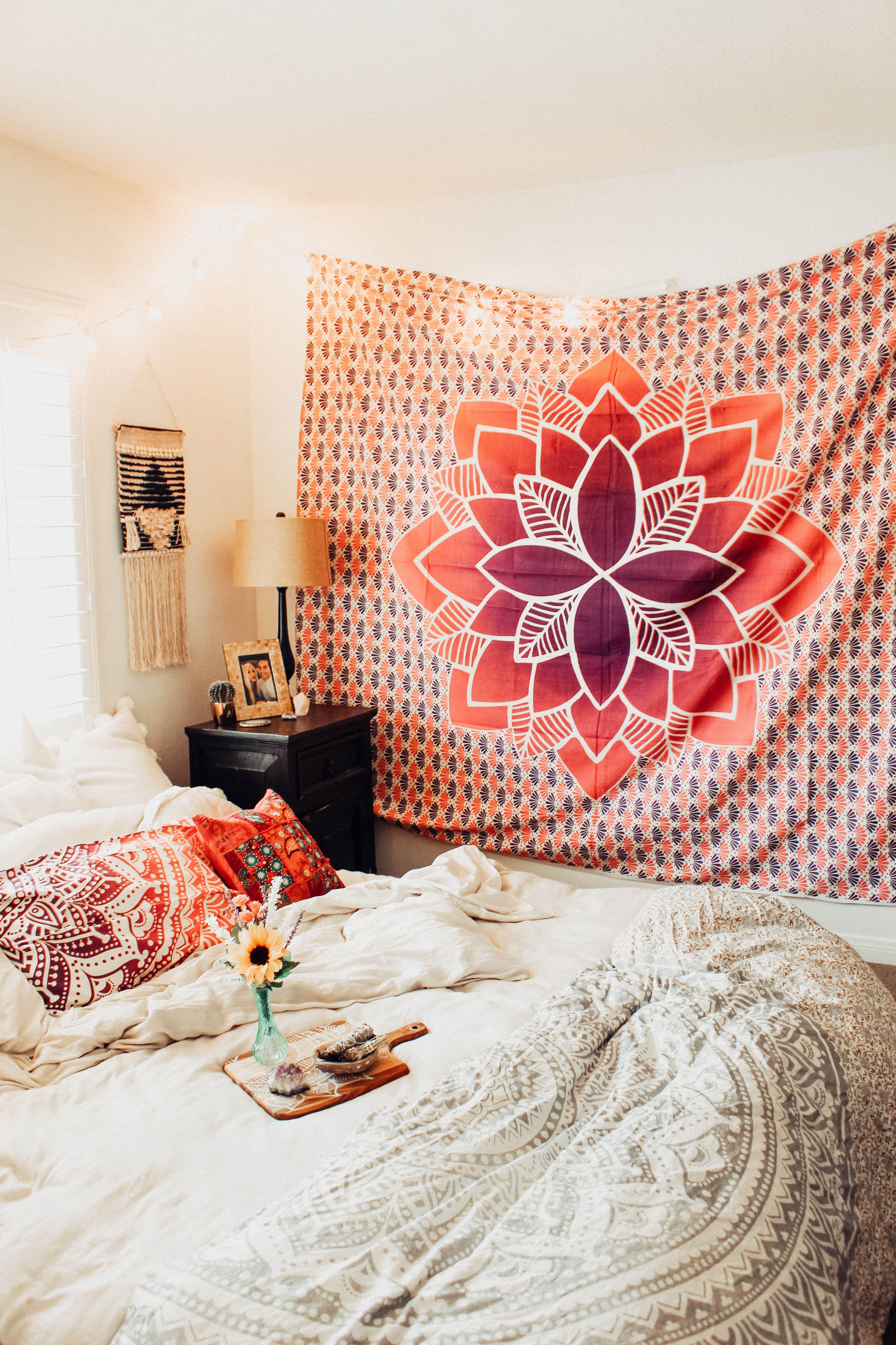 Tropic paradise mandala tapestry bedrooms mandala tapestry and