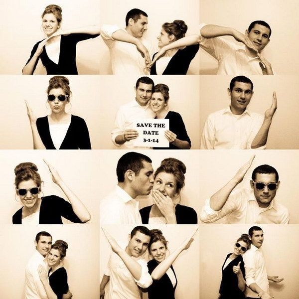 30 Fun & Creative Save the Date Photo Ideas - IdeaStand #enchantedcelebrations #rocktheaislebridal