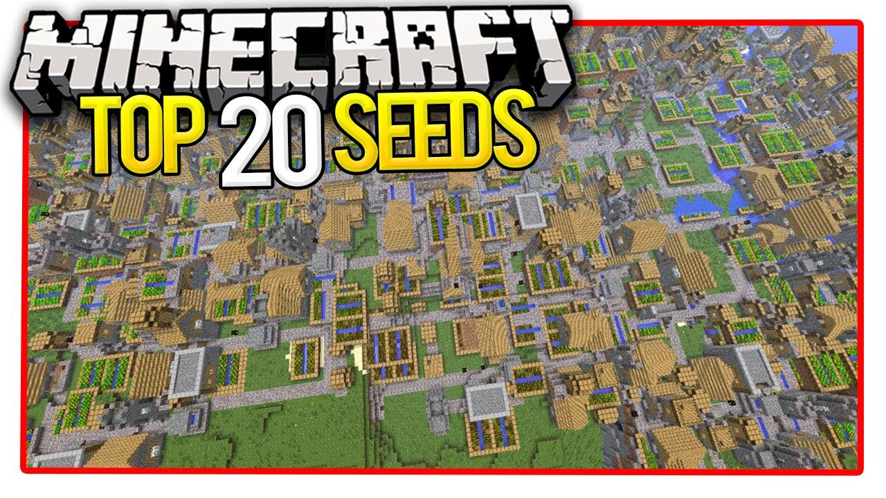Minecraft Top 20 Seeds (Minecraft PE Seeds & Minecraft PC Seeds) 2016