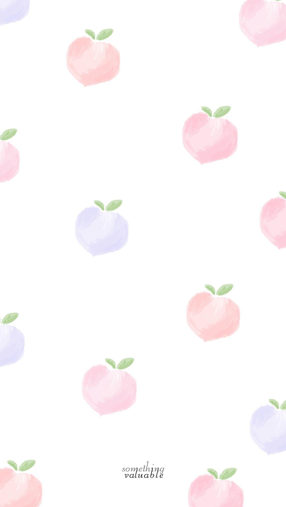 Kakao Friends Iphone Wallpaper Iphone Wallpaper Design Peach Wallpapers Peach